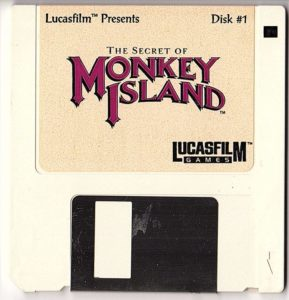 The Secret of Monkey Island DOS Disk 1 of 4