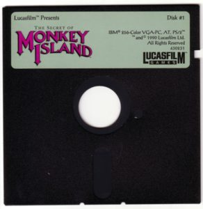 The Secret of Monkey Island DOS Disk 1 of 8