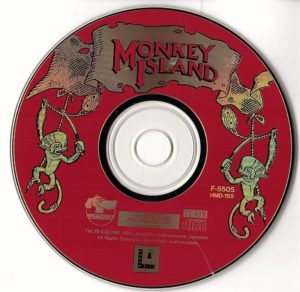 The Secret of Monkey Island FM Towns Disc