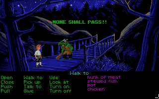 The Secret of Monkey Island - None Shall Pass