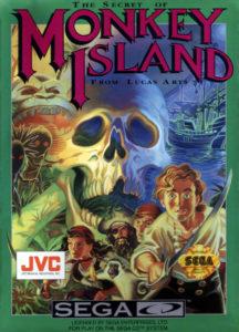 The Secret of Monkey Island Sega CD Box