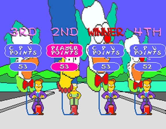 The Simpsons Arcade Game - Balloons