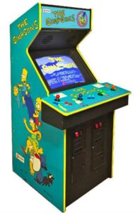 The Simpsons Arcade Game Cabinet leftside
