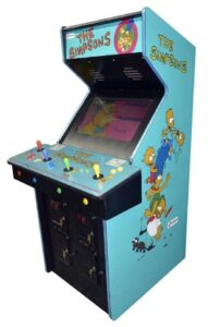 The Simpsons Arcade Game Cabinet rightside