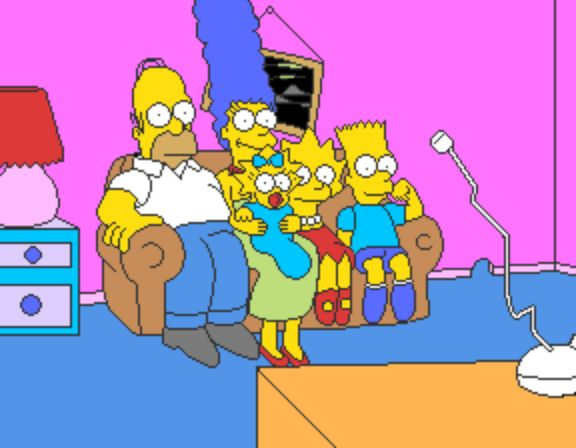The Simpsons Arcade Game - Couch