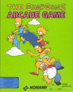 The Simsons Arcade Game DOS Box