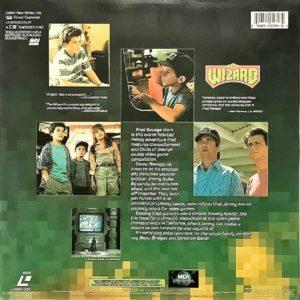 The Wizard LaserDisc Box Back