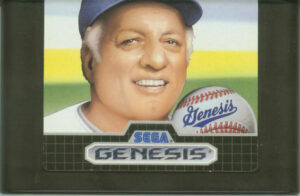 Tommy Lasorda Baseball Cartridge