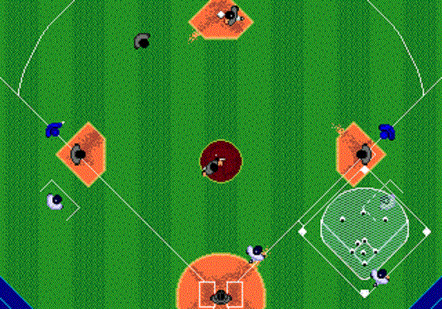 Tommy Lasorda Baseball - Overhead View