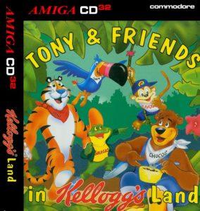 Tony and Friends in Kellogg's Land Box