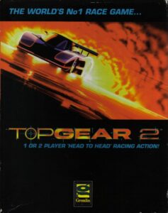 Top Gear 2 Amiga Box