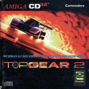Top Gear 2 Amiga CD32 Box