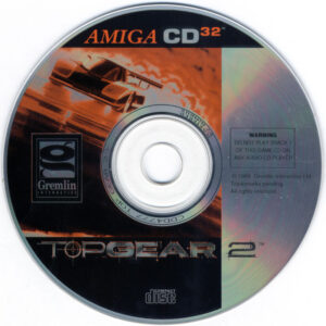 Top Gear 2 Amiga CD32 Disc