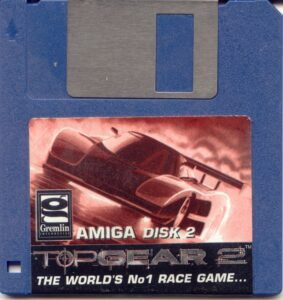 Top Gear 2 Amiga Disk