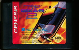 Top Gear 2 Genesis Cartridge