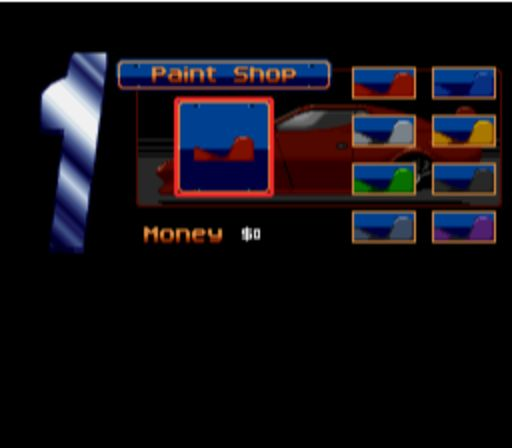 Top Gear 2 - Paint Shop