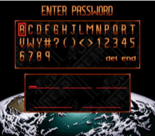 Top Gear 2 - Password