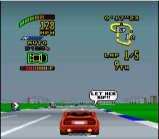 Top Gear 2 - Race Begins