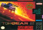 Top Gear 2 SNES Box