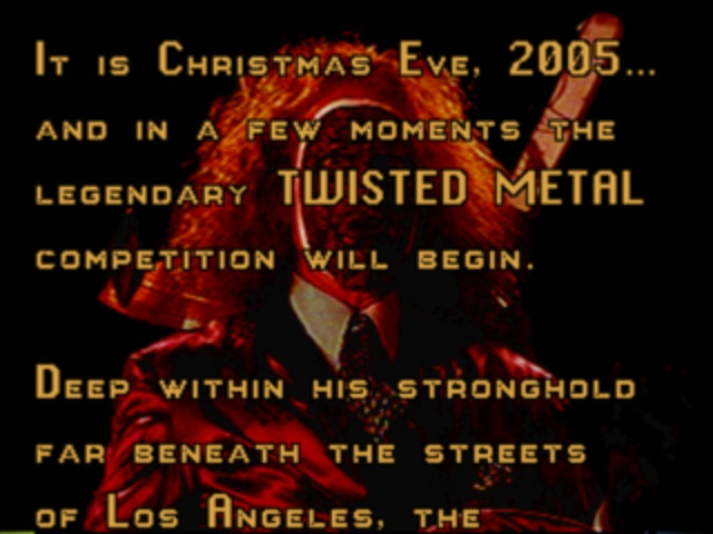 Twisted Metal - Introduction