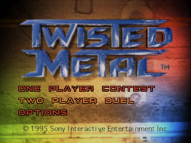 Twisted Metal - Title Screen