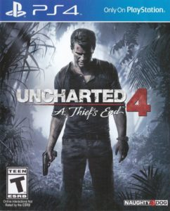 Uncharted 4 A Thief's End Box