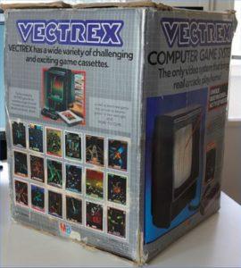 Vectrex Box Side