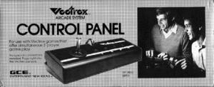 Vectrex Control Panel Box