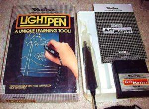 Vectrex Lightpen Box Content