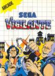 Vigilante Sega Master System Box