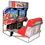 Virtua Racing Arcade Cabinet