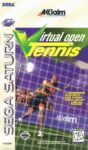 Virtual Open Tennis Sega Saturn Box