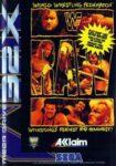 WWF Raw Mega Drive 32X Box