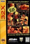 WWF Raw Sega 32X Box