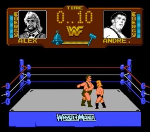 WWF WrestleMania - Andre vs. Million Dollar Man Match