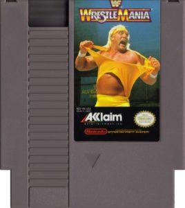 WWF WrestleMania Cartridge