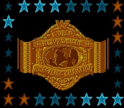 WWF WrestleMania - Championship Belt