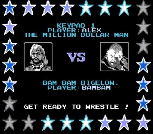 WWF WrestleMania - Million Dollar Man vs. Bam Bam Bigelow