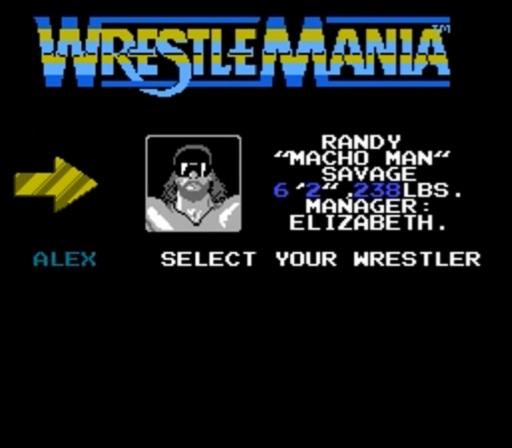 WWF WrestleMania - Randy Savage Profile