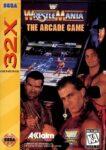 WWF WrestleMania The Arcade Game Sega 32X Box
