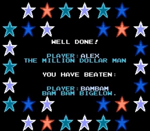 WWF WrestleMania - Won Match