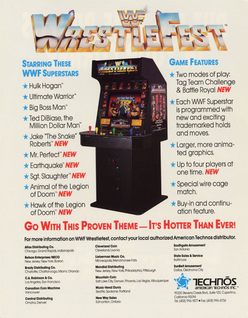 WWF Wrestlefest Advertisement 2