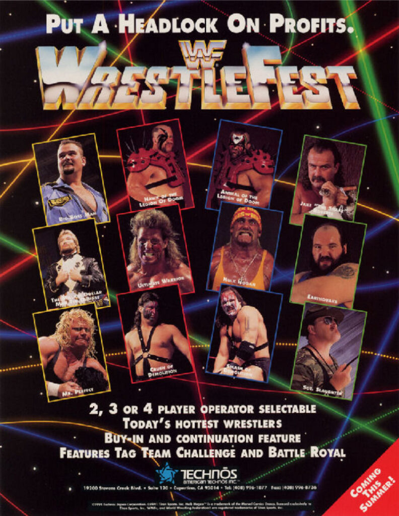 WWF Wrestlefest Advertisement 3