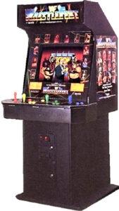 WWF Wrestlefest Arcade Cabinet Front