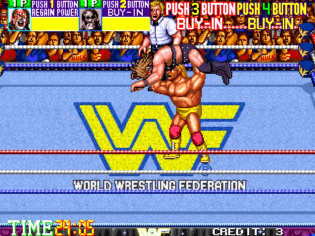 WWF Wrestlefest - Body Slam