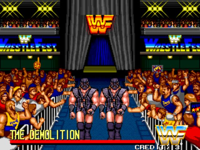 WWF Wrestlefest - Demolition