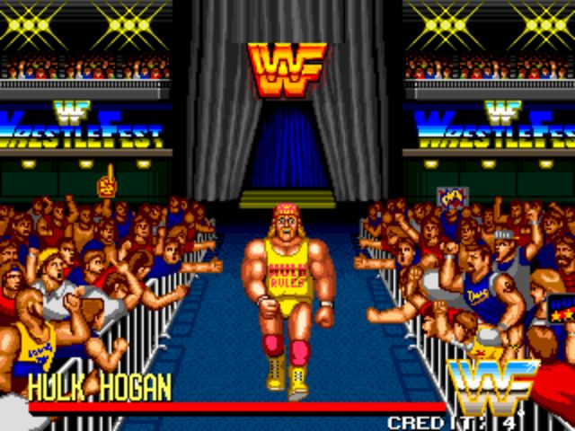 WWF Wrestlefest - Hogan's Entrance