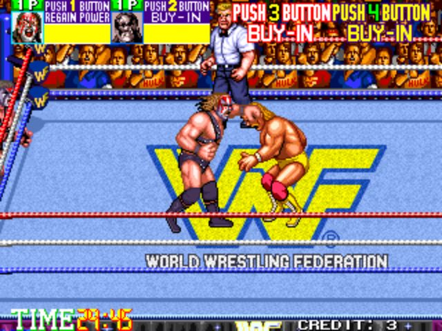 WWF Wrestlefest - Punch