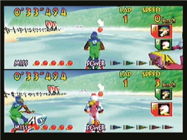 Wave Race 64 - Multiplayer Split Screen