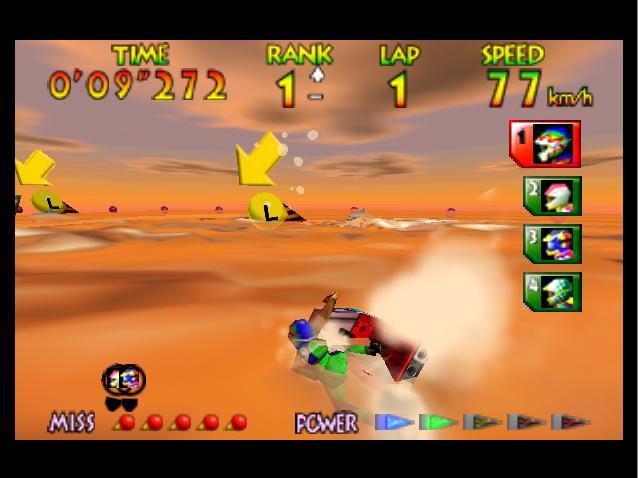 Wave Race 64 - Sharp Turn